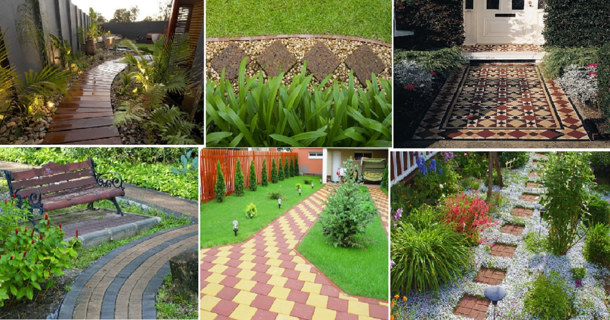 & 10 Amazing Pathway Design For Your Outdoor Spaces - Genmice