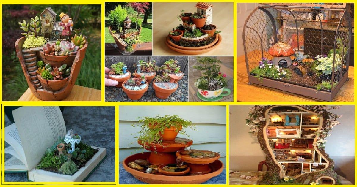10 Beautiful DIY Fairy Garden Ideas For Your Indoor Spaces