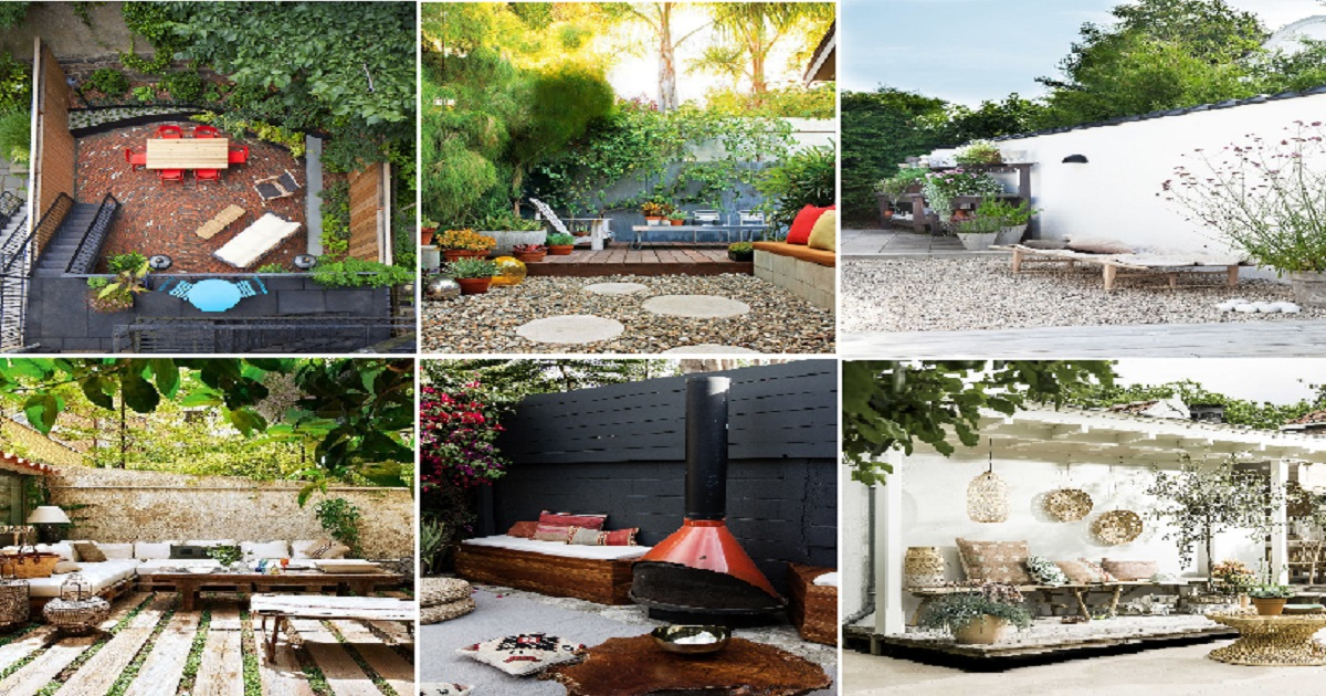 10 Beautiful Grassless Ideas For Your Backyard Spaces ... on Grassless Garden Ideas id=15133