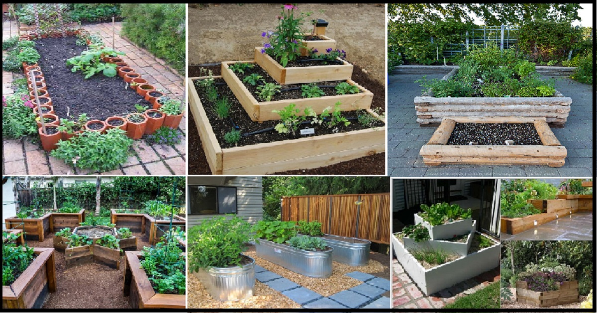 10 Beautiful Raised Garden Bed Ideas For Outdoor Spaces ...