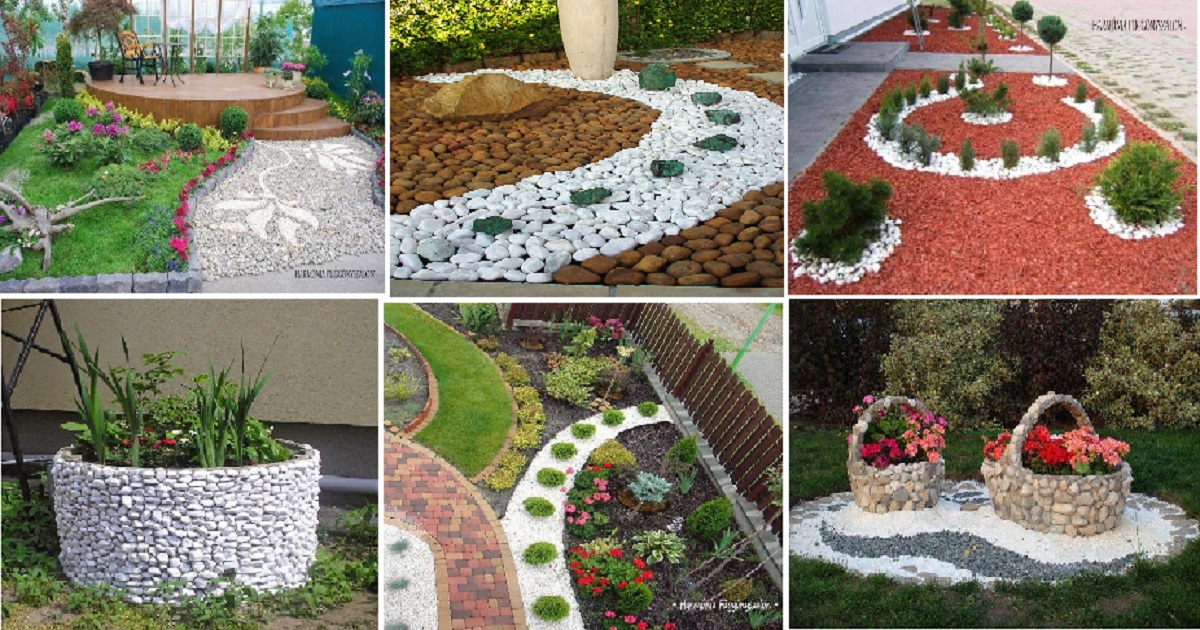 10 Best Ideas With Pebbles For Your Garden Areas - Genmice on Backyard Pebbles Design id=30976