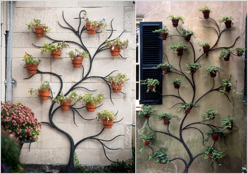 10 Creative Planter Display Ideas For Your Outdoor Wall