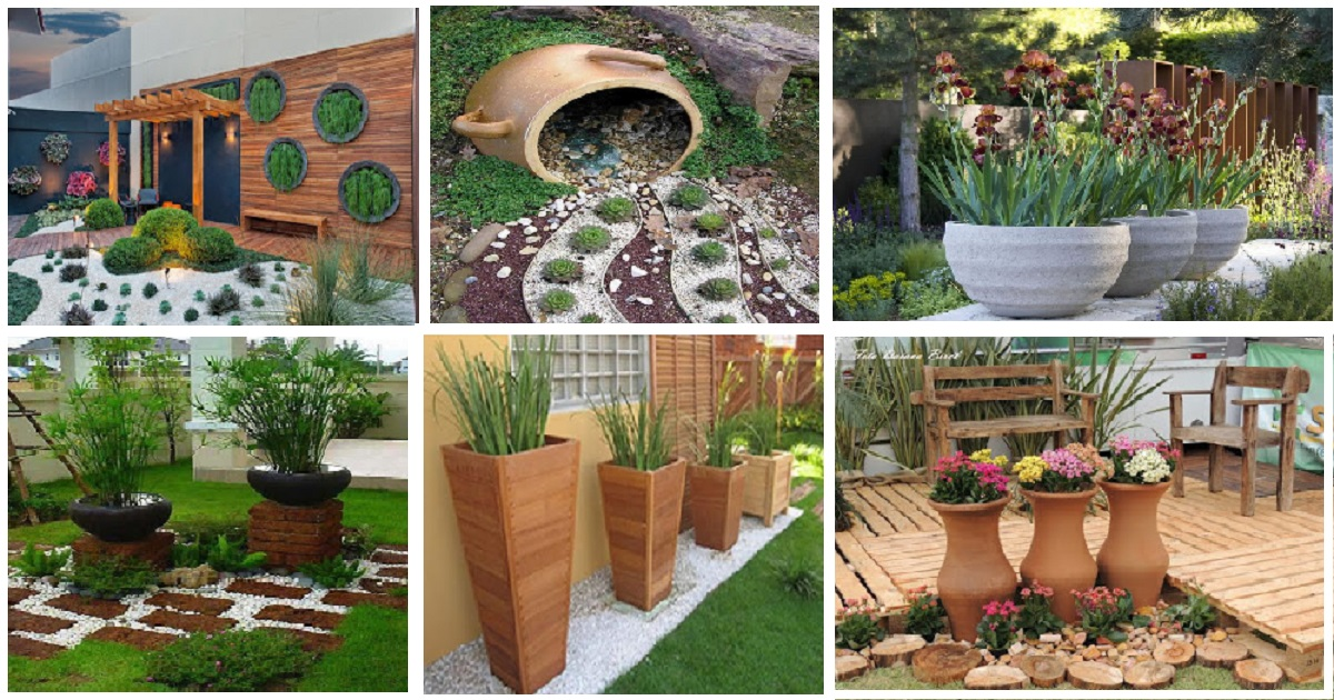 10 Creative Diy Garden Ideas With Rocks And Pots