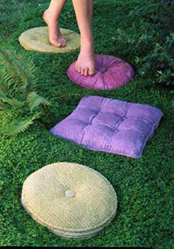 Backyard Stepping Stone Ideas 10 enchanting diy stepping stones ideas for your backyard - genmice