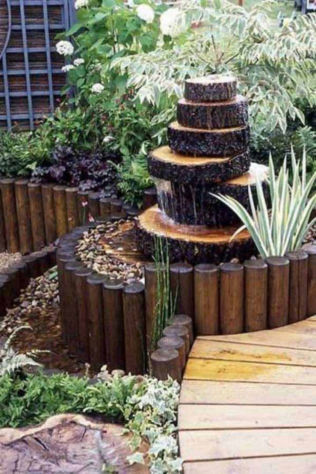 You Need Some Interesting And Creative Ideas To Showcase Such Tree Stumps Are The Best One Give A More Natural Look