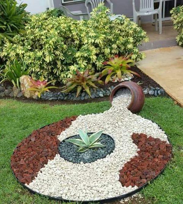 10 Marvellous Decorative Garden Design Ideas With Stones