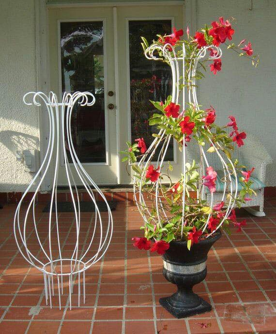 10 Mesmerising Iron Wrought Plant Stand Ideas - Genmice on Iron Stand Ideas  id=30353