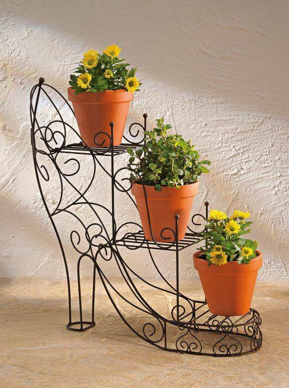 10 Mesmerising Iron Wrought Plant Stand Ideas - Genmice on Iron Stand Ideas  id=98939