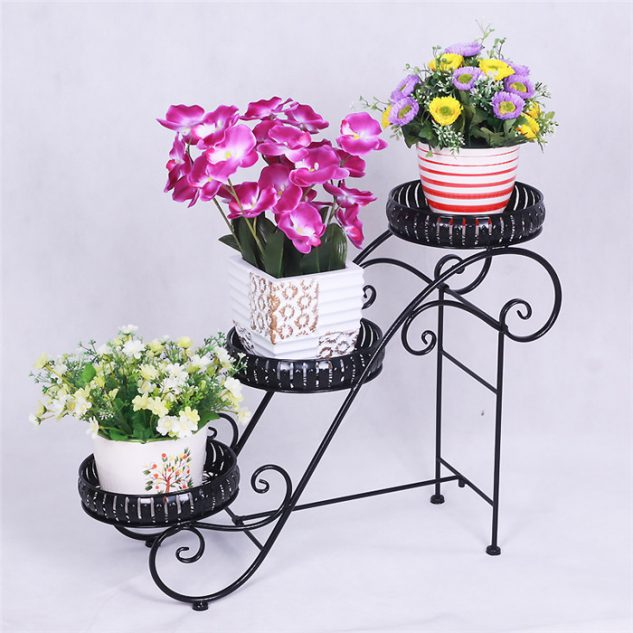 10 Most Amazing Iron Wrought Plant Stand Ideas For Your ... on Amazing Plant Stand Ideas  id=52581