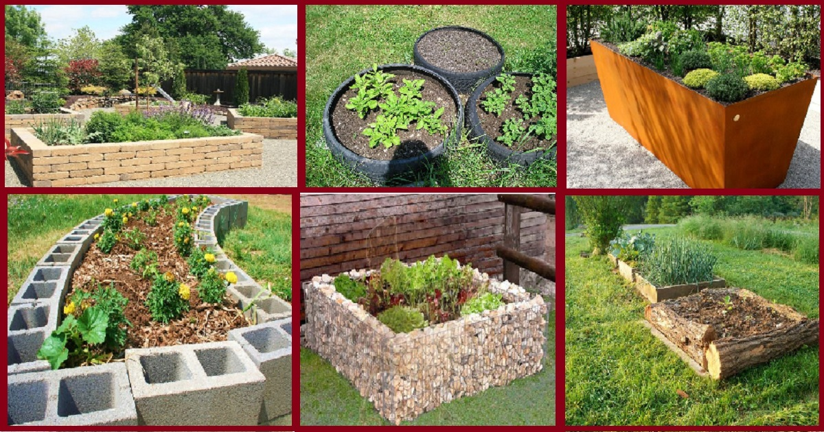 10 Unique Raised Garden Bed Ideas For Your Outdoor Spaces ...