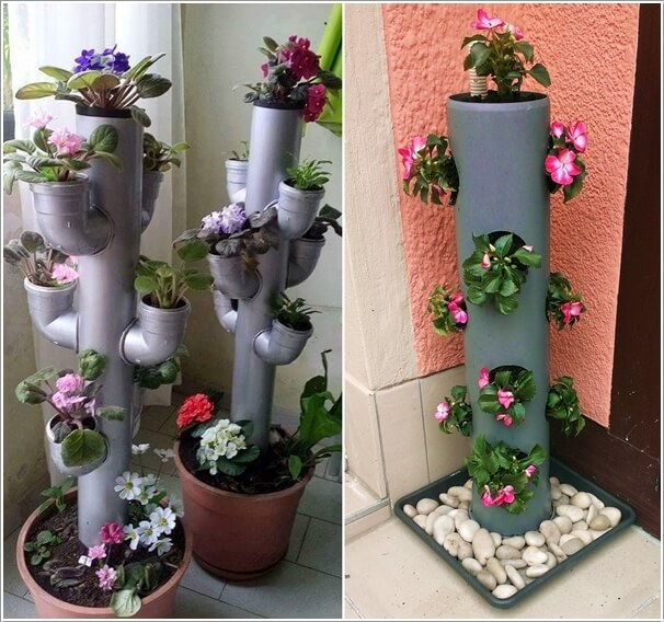 16 Creative Diy Vertical Garden Ideas For Small Gardens: 10 Stunning Ways To Create Your Space Saving Tower For