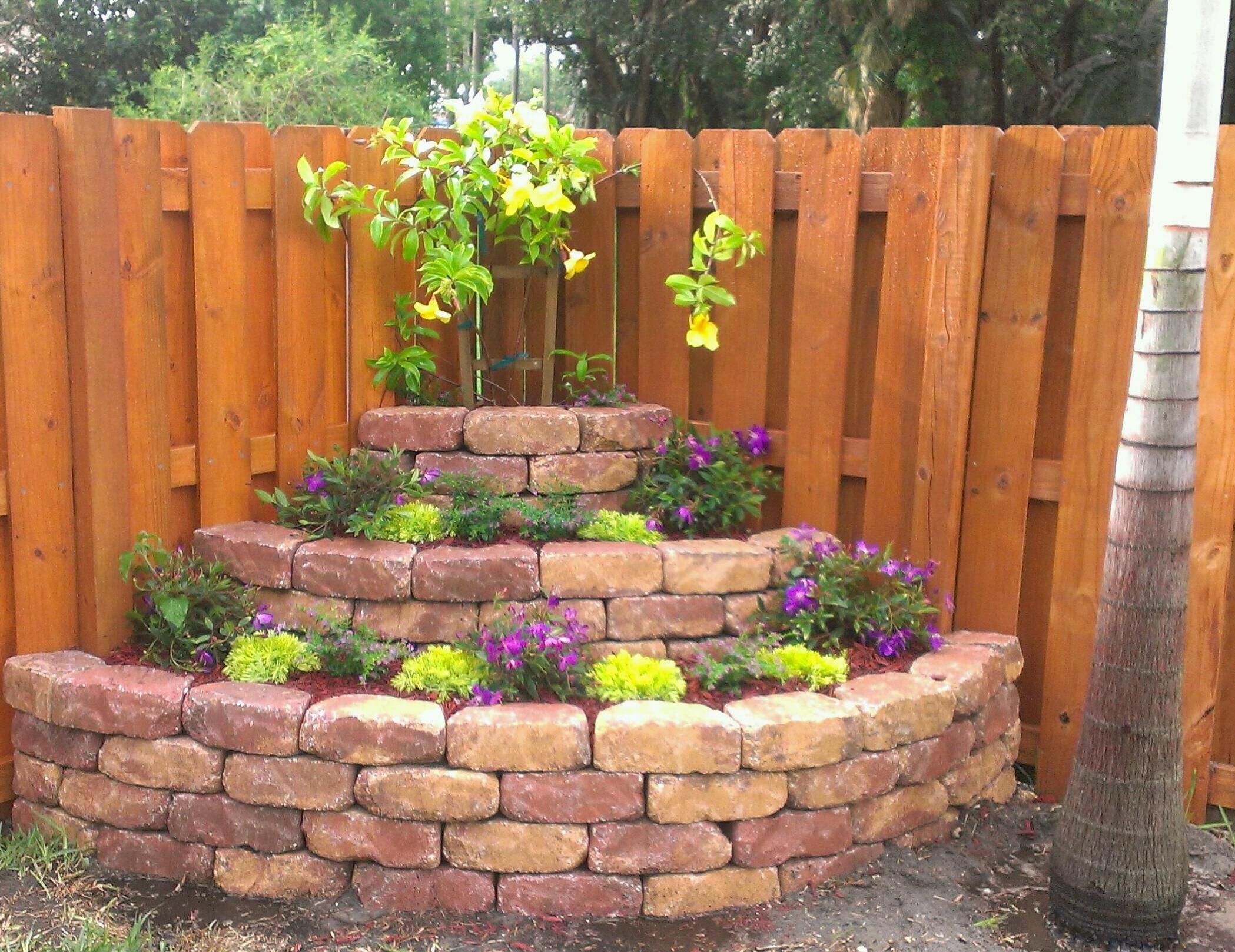 11 amazing diy corner planter ideas for your small garden look