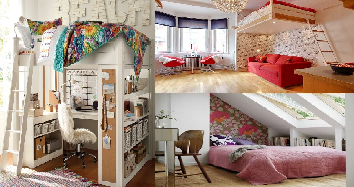 12 Smart space saving bedroom ideas for your house - Genmice
