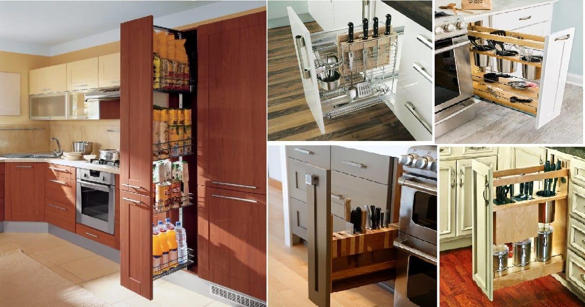 stunning creative kitchen storage ideas   12 Stunning Vertical Drawers For Your Kitchen Storage ...