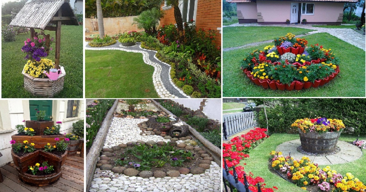 12 Unique Flower Bed Ideas For Your Garden Areas - Genmice on Garden Bed Ideas For Backyard id=91290