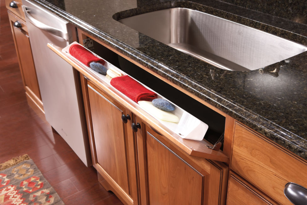 Kitchen Cabinet Under Sink Tray | Home design ideas