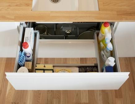 15 best ideas about kitchen sink drawer genmice 14 under sink drawer storage workwithnaturefo