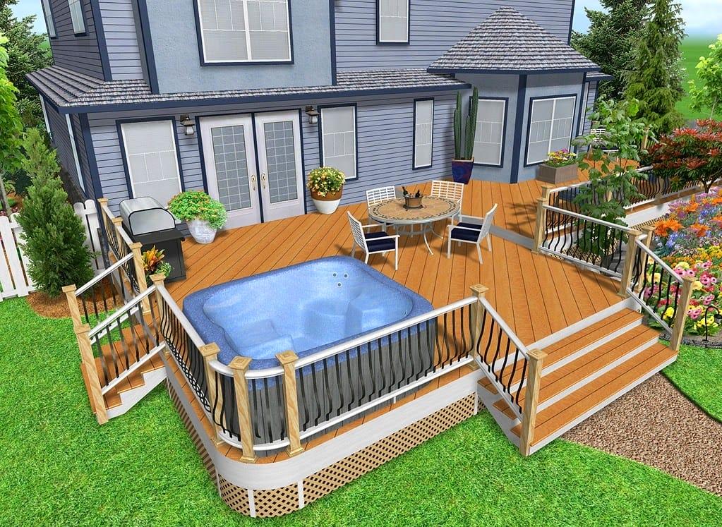 #5 Pool Area Deck