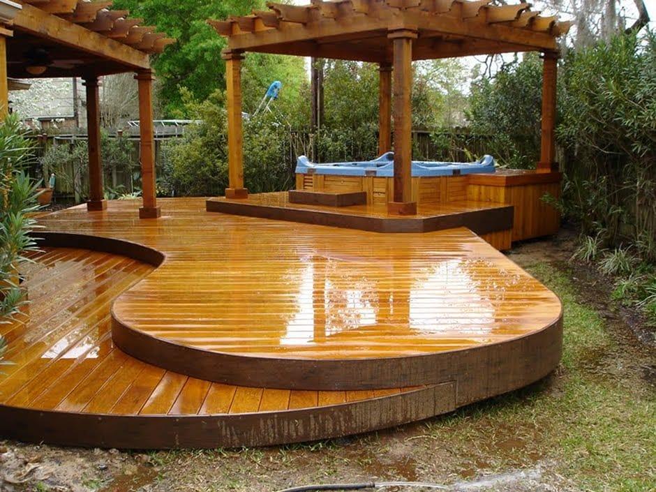 15 Unique Deck Design Ideas! - Genmice