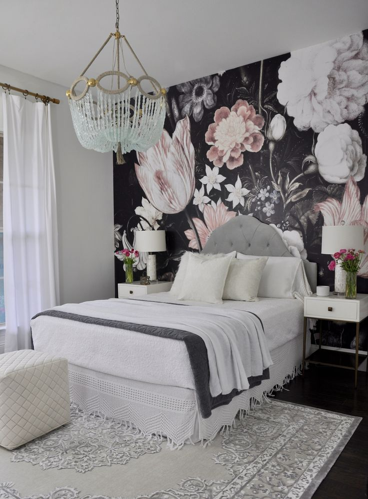 Attractive #2 Luxurious Room With Cool Wallpaper