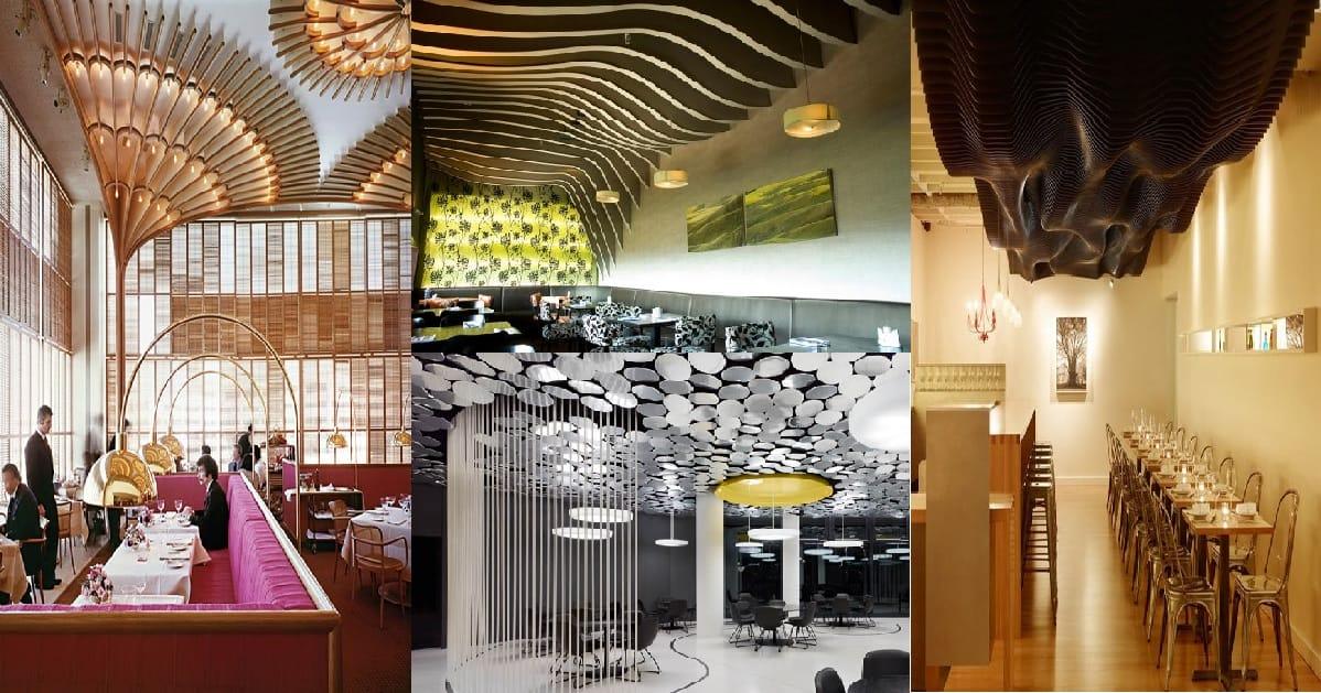 20 Magnificent Unique Ceiling Designs Genmice