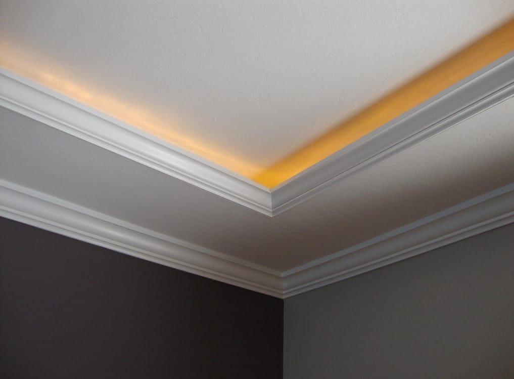 25 ceiling corner crown molding ideas genmice. Black Bedroom Furniture Sets. Home Design Ideas