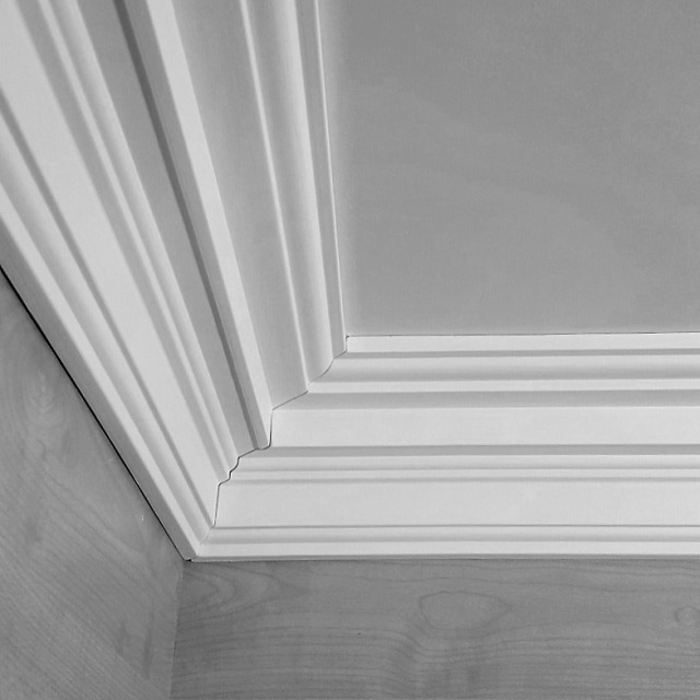 25 Ceiling Corner Crown Molding Ideas! - Genmice