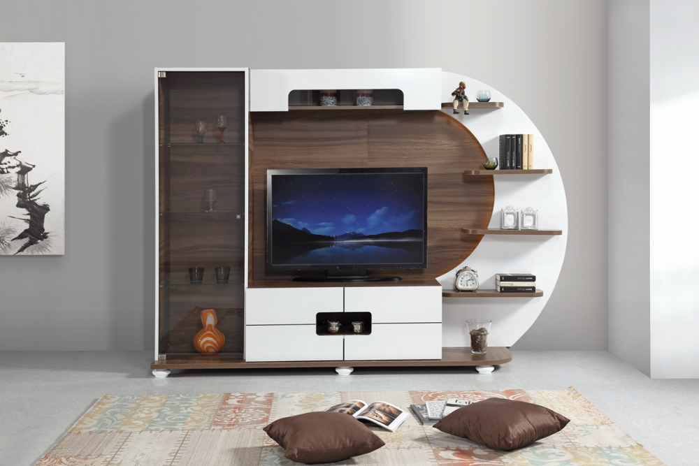 Amazing Wall TV Unit Designs That You Will Fall For - Genmice