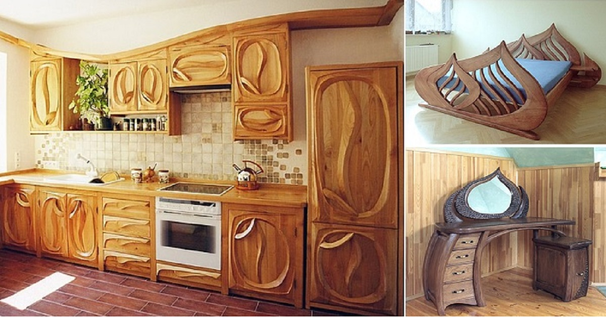 Amazing Wood Furniture for every Part of Your Home - Genmice