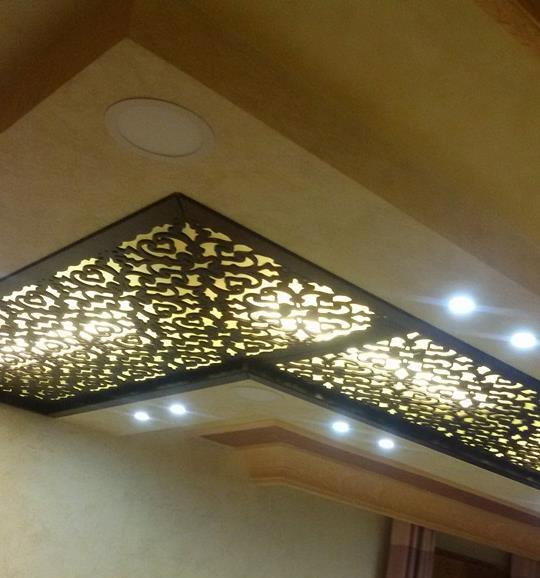 50 Indirect Lighting Design Ideas 2018: Classy CNC False Ceiling Corner Designs Ideas!