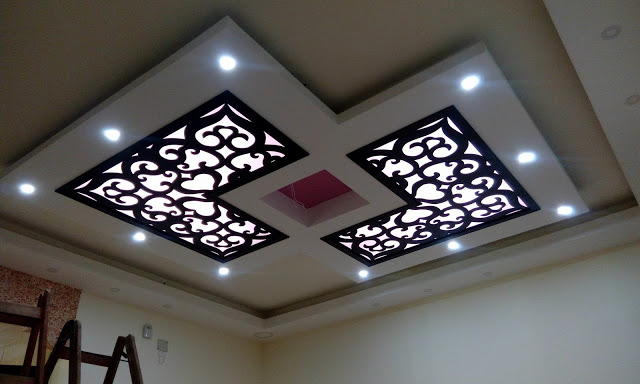 Classy CNC False Ceiling Corner Designs Ideas on Ideas For The House