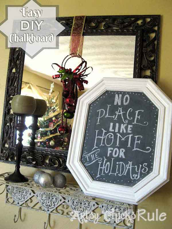 Creative Reuse Old Pictures Frames Into Home Decor Ideas - Genmice