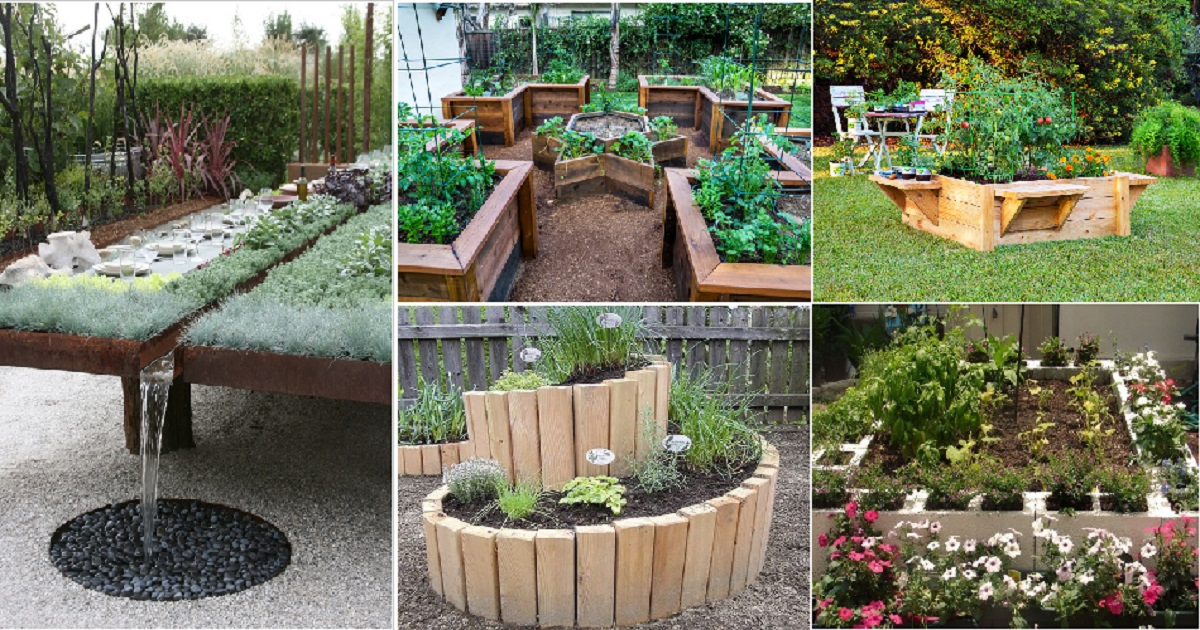 10 Unique Raised Garden Bed Ideas For Your Outdoor Spaces