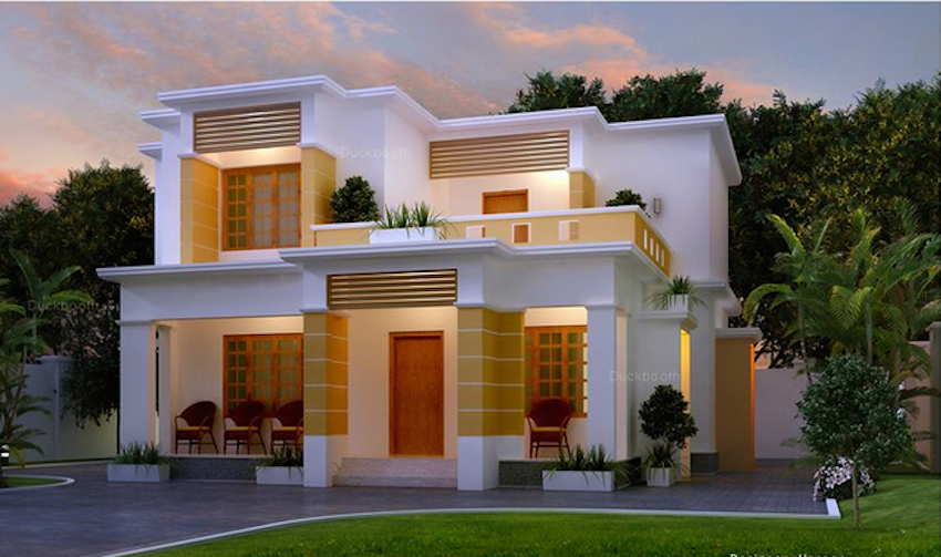 10 Modern Indian Style House With Classic Interior