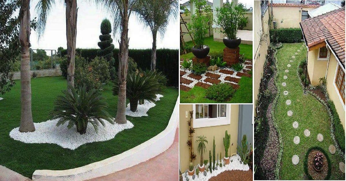 Most Amazing Backyard Pebble Stone Decoration Ideas That ... on Backyard Pebble Ideas id=21917