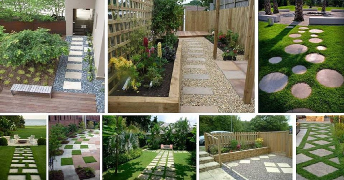 & Most Amazing Garden Pathway Designs To Decorate Your Garden - Genmice