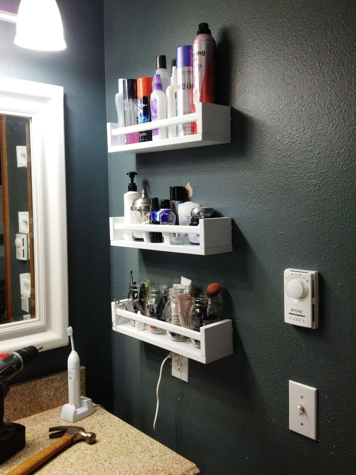 Most Amazing Small Bathroom Storage Ideas That Are Useful