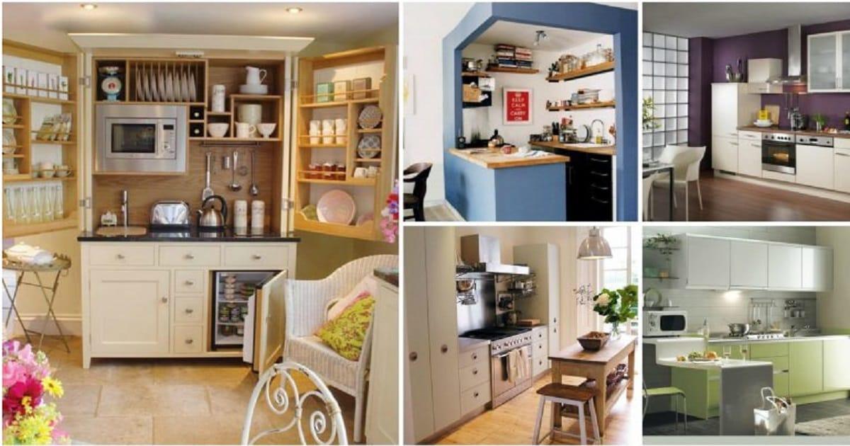 astonishing kitchen decorating ideas | Most Creative And Amazing Small Kitchen Design Ideas - Genmice