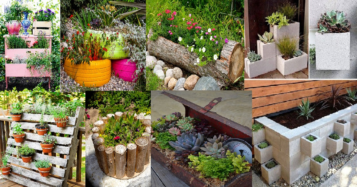 Most Creative Planter Ideas For Your Garden That Are truly ...