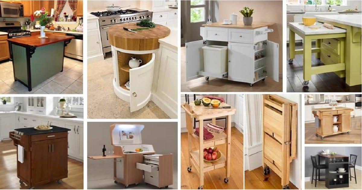 Most Creative Small Kitchen Storage Cabinet Designs That It ...