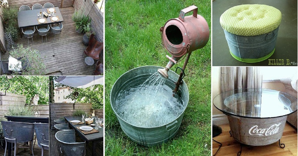 Most Creative Ways To Reuse Your Buckets And Tubs Genmice