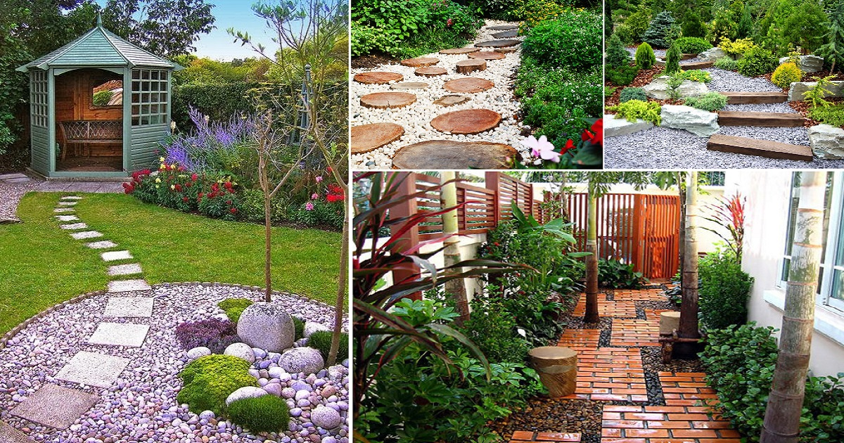 Most Fabulous Pebble Yard Decorations That Will Amaze You ... on Pebble Yard Ideas id=66288