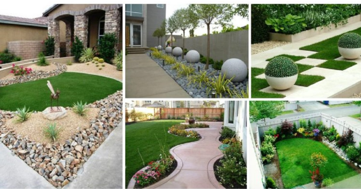 most beautiful front yard landscaping ideas for your backyard