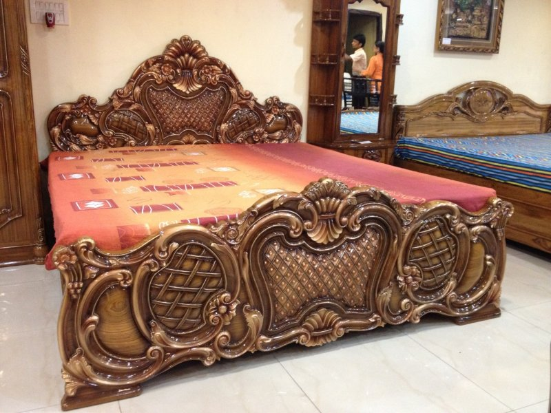 Superior Handmade Wooden Bed Frame Decor Genmice