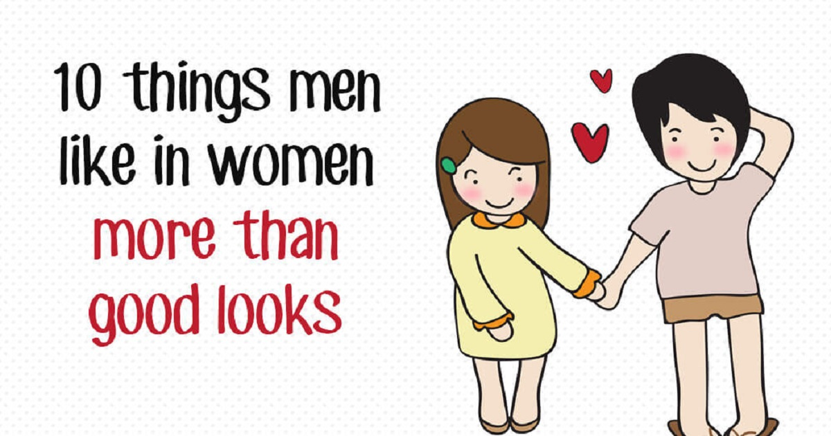Things men like in a woman