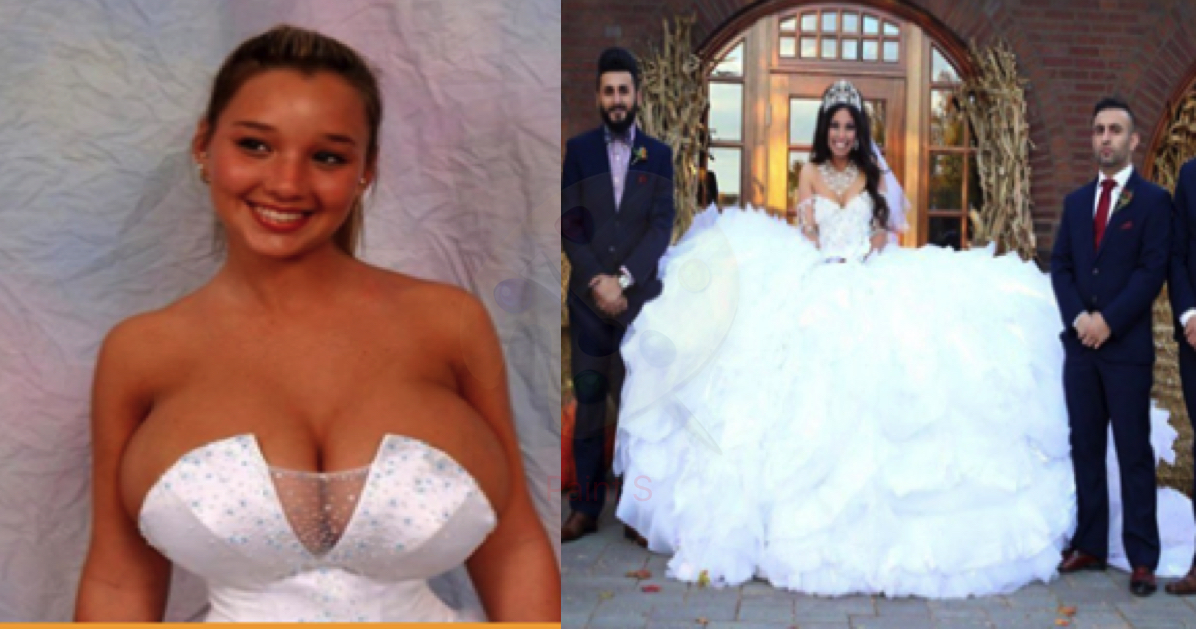 These 15 Worst Wedding Dresses Of All The Time! - Genmice