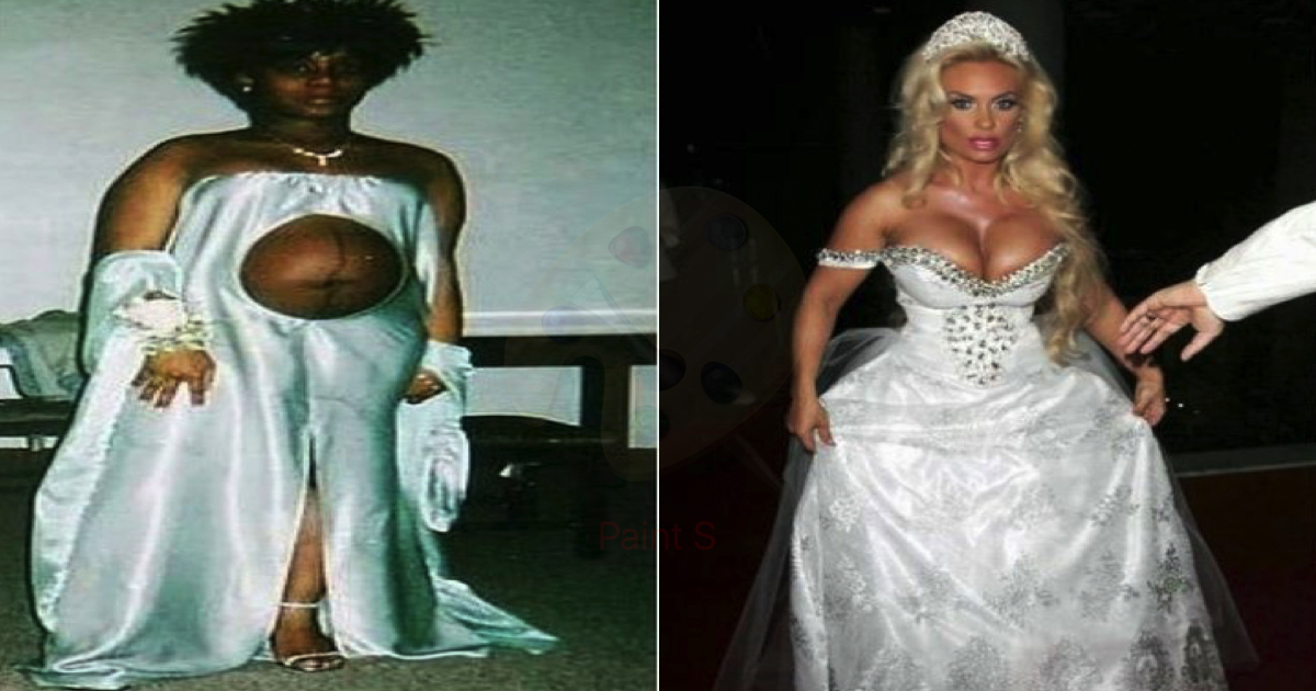 On Your Wedding Day By Unknown: 10 Awful Wedding Gowns That Are Cringeworthy