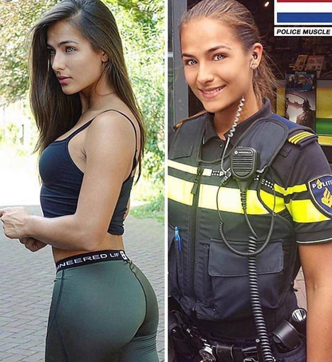 10 Hottest Female Officers From All Around The World - Genmice
