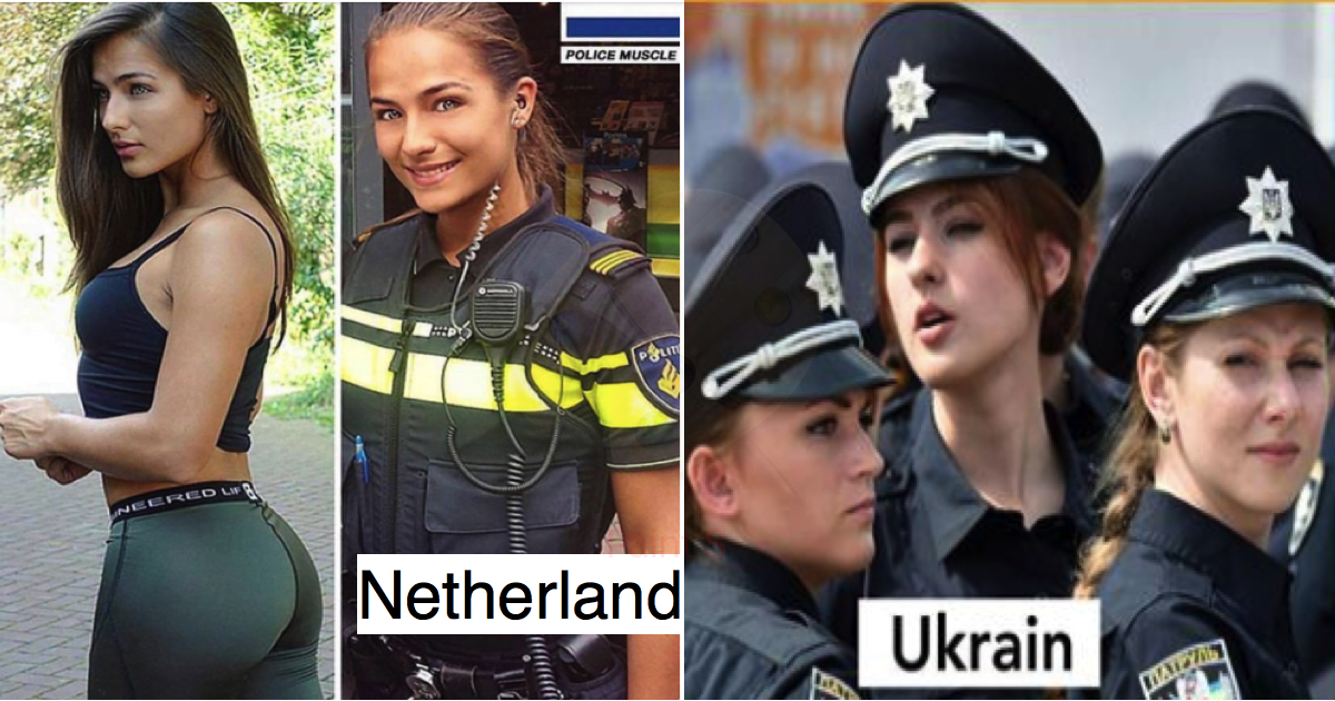11 Hottest Female Officers In The Police Forces. - Genmice