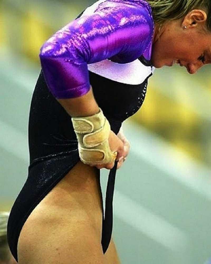 Voyeur gymnastic dressing sex